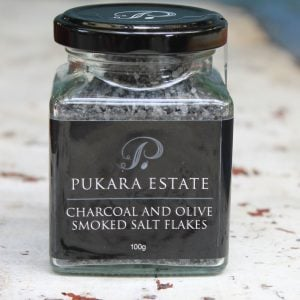Salt Flakes – Charcoal & Olive Wood Smoked