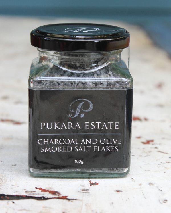 Salt Flakes - Charcoal & Olive Wood Smoked