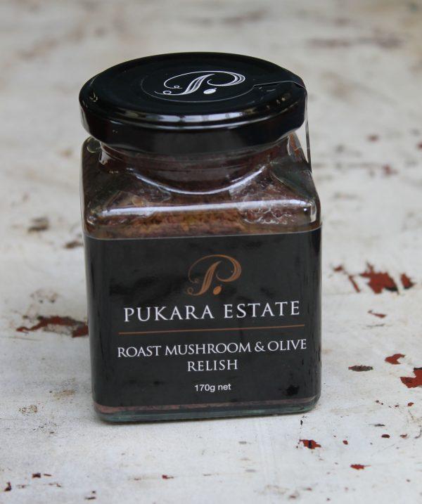 Roast Mushroom & Olive Relish - 170g