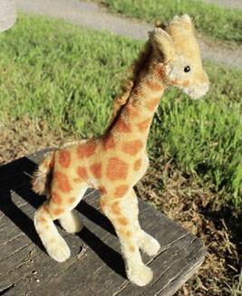 Steiff Giraffe Button 28cm. $145