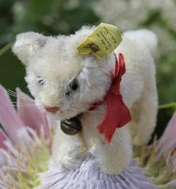 Steiff Tabby Cat 10cm $110