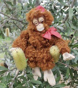 Monkey Bell Hop 40cm $110