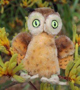 Steiff Wittie Owl 10cm $95