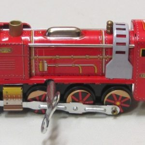 Train – Red Locomotive, length 12cm