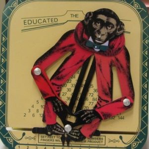 The Educated Monkey, height 15cm