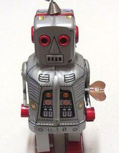 Robot – Space Robot Silver, 19cm
