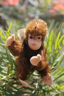 Steiff Jocko Chimpanzee ff Button, 10cm