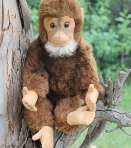 Hermann Red, Monkey 35cm