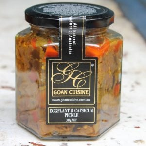 Eggplant & Capsicum Pickle