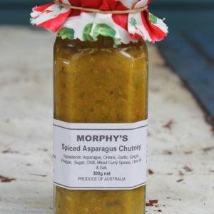 Spiced Asparagus Chutney