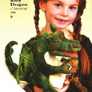 Folkmanis Puppet – Baby Dragon