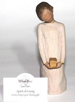 Willow Tree Figurine - Spirit of Giving