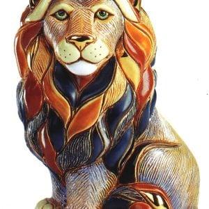 Rinconada Medium Lion Sitting F1008