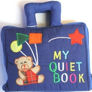 My Quiet Book - blue