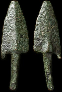 Roman Bronze Arrow Head – 5cm