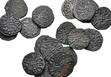 Coin from Anglo Saxon Britain, 810-840AD