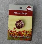 Badge – Poppy 3D
