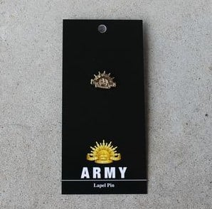 Badge - Army Rising Sun Gold