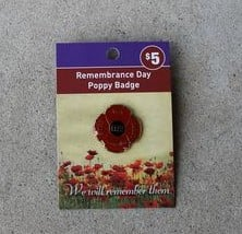 Badge – Remembrance Day Poppy