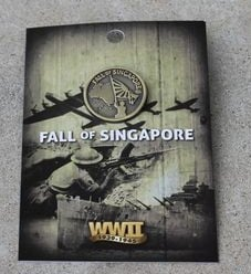 Badge - Fall of Singapore