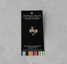 Badge – Vietnam Campaign Ribbon Set