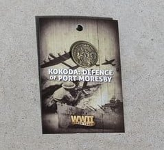 Badge – Kokoda: Defence of Port Morseby