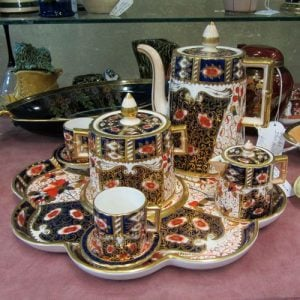 Coffee Set c1860s Davenport 'Imari Pattern'