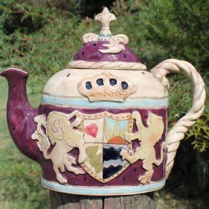 Rampant Lion Teapot