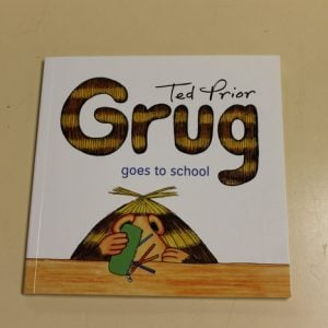 Grug goes to school - book