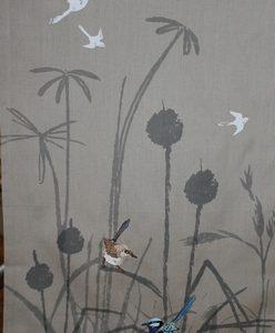 Teatowel – Blue Wren Organic Grassland