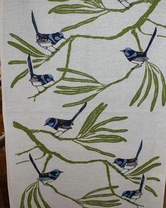Teatowel – Blue Wren