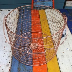 Bass Strait Fishing Basket – Round Large Copper