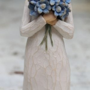 Forget-Me-Not Figurine - 13cm Willow Tree