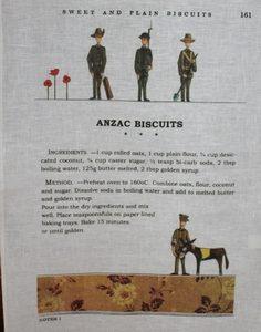 Teatowel – ANZAC Biscuits