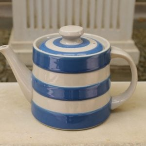 Cornishware Traditional Teapot – Blue/White