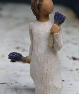 Lavender Grace Figurine – 14cm Willow Tree