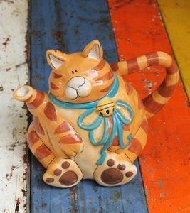 Marmalade Cat Teapot