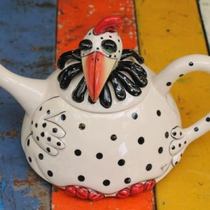 Spotty Chook Teapot