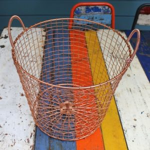 Bass Strait Fishing Basket – Tall Medium Copper
