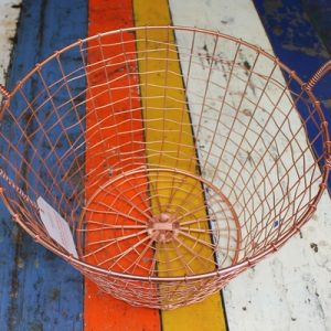 Bass Strait Fishing Basket – Harvest Large Copper