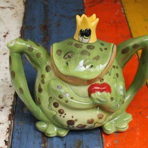 Frog Prince Teapot