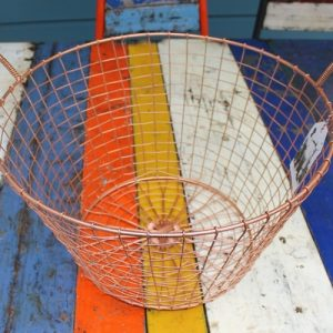 Bass Strait Fishing Basket – Harvest Medium Copper