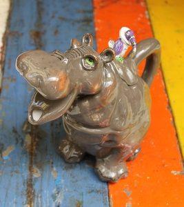Hippopotamus Teapot