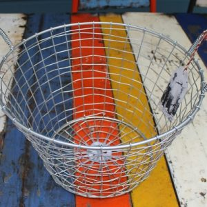 Bass Strait Fishing Basket – Harvest Medium Zinc