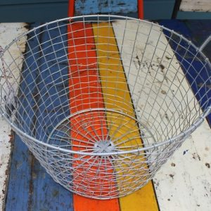Bass Strait Fishing Basket – Harvest Large Zinc