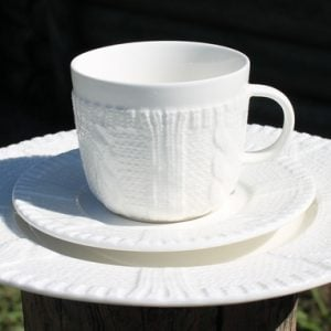 Cardigan Cup, Saucer & Plate