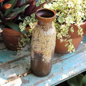 West German Pottery 'Fat Lava' Vase