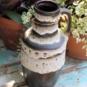 West German Pottery 'Fat Lava' Jug