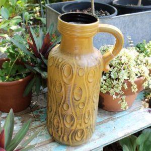 West German Pottery Floor Vase