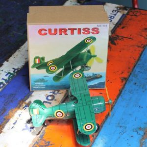Tin Toy – Curtiss Plane